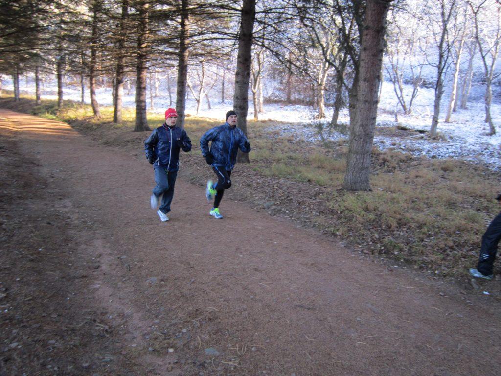 Тренировка: спринт и выносливость в беге